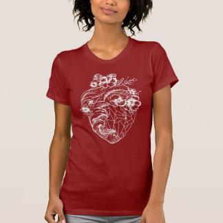 Camiseta Renacimiento real cristalino T del corazón del