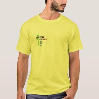 Camiseta ¡Repetición de Obama Biden! 2012