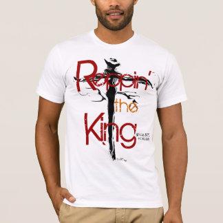 """Camiseta """"Reppin el rey"""" por Michael Crozz"""