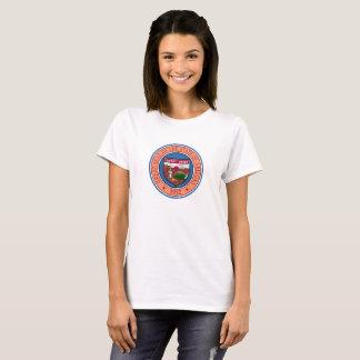 Camiseta Representante del símbolo de la bandera de Estados