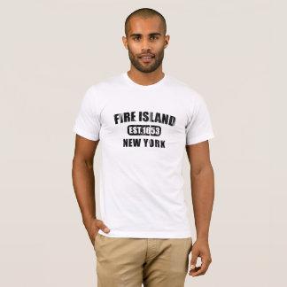 Camiseta Represente la isla del fuego, Nueva York