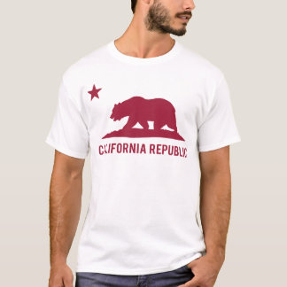 Camiseta República de California - básica - rojo