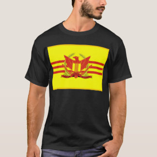 Camiseta República de la bandera de las fuerzas militares