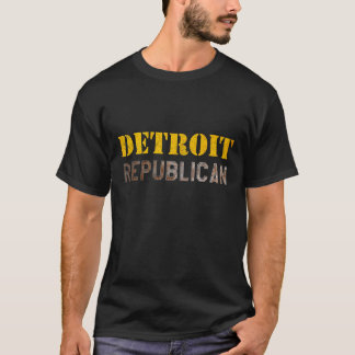 Camiseta Republicano de Detroit