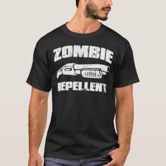 Camiseta repulsivo del zombi - la escopeta