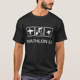 Camiseta Resaca, bici, esquí - Triathlon 2,0