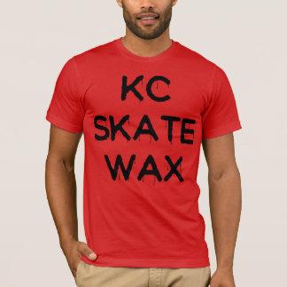 camiseta resbaladiza de la cera del patín del kc