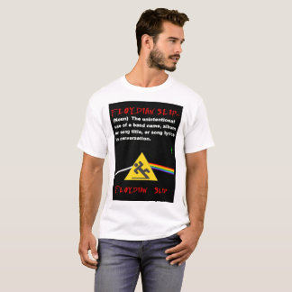 Camiseta Resbalón de Floydian definido