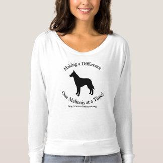 Camiseta Rescate de Malinois que diferencia