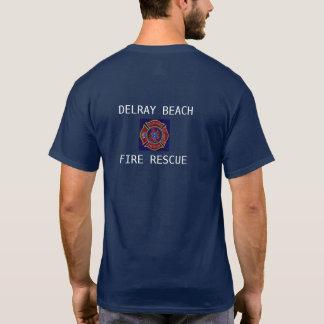 CAMISETA RESCATE DEL FUEGO DE DELRAY BEACH