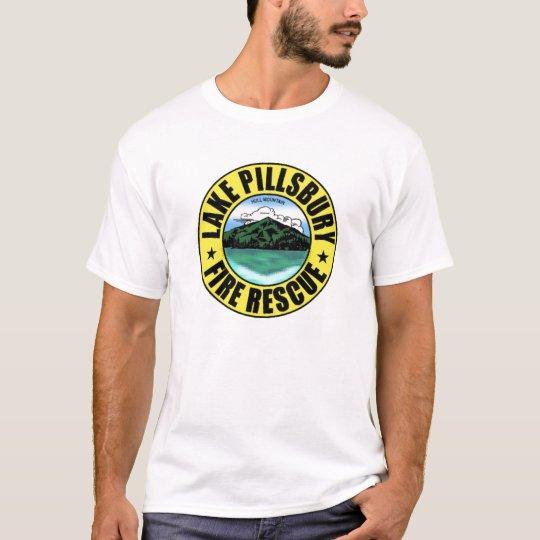 Camiseta Rescate del fuego de Pillsbury del lago