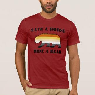 Camiseta Reserva gay de la bandera del orgullo de los osos