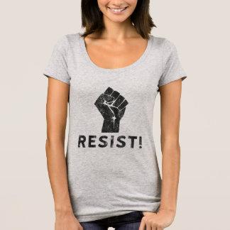 Camiseta Resista el puño