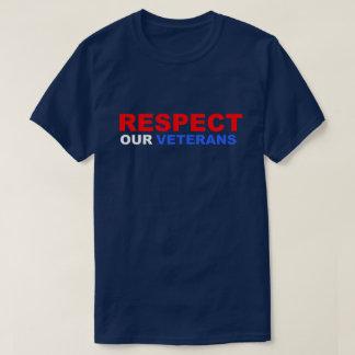 Camiseta Respete a nuestro soldado los E.E.U.U. de Vietnam