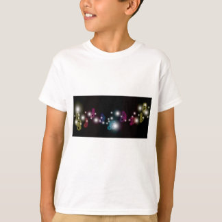 Camiseta Resplandor de la música