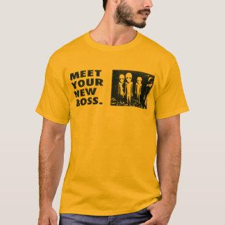 Camiseta Resuelva su nuevo Boss