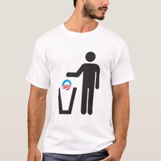 Camiseta ¡Retire América! Descargue a Obama