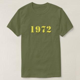 Camiseta retra 1972 (amarillo)
