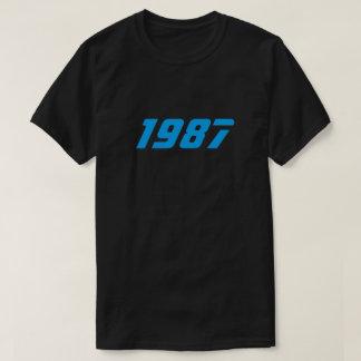 Camiseta retra 1987