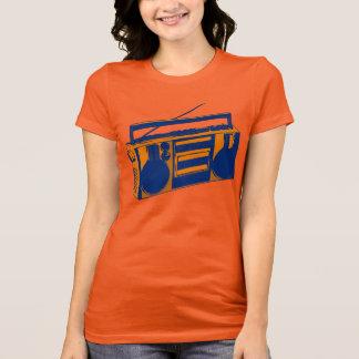 camiseta retra de Boombox de los años 80