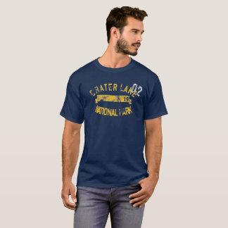 Camiseta retra de Oregon del parque nacional del