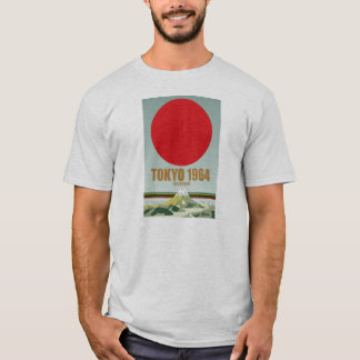 Camiseta retra de Tokio '64