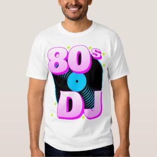 Camiseta retra del tigre 80s 80s DJ de Corey