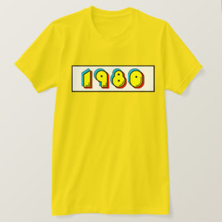Camiseta retra el an o 80