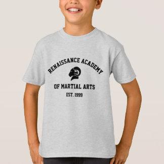 Camiseta retra gris de Hanes RAM de los niños