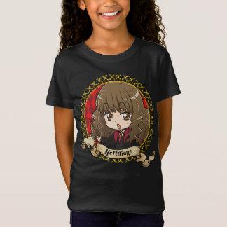 Camiseta Retrato de Hermione Granger del animado
