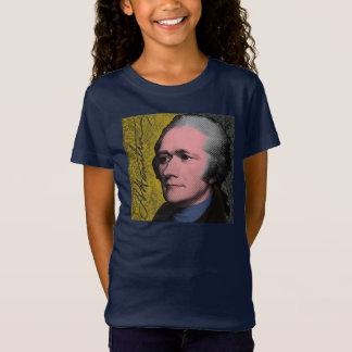 Camiseta Retrato del arte pop de Alexander Hamilton