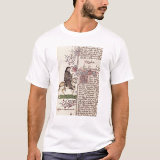 Camiseta Retrato del facsímil de Geoffrey Chaucer de