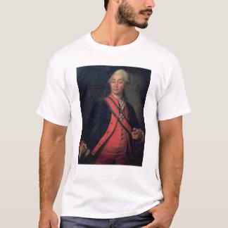 Camiseta Retrato del generalísimo del mariscal de campo