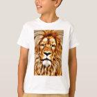 Camiseta Retrato del león