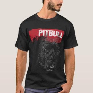Camiseta Retrato del texto de Pitbull