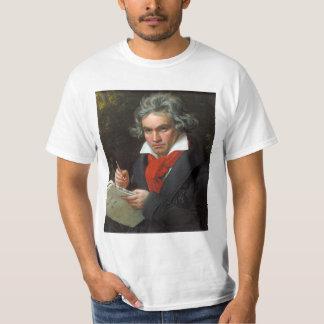 Camiseta Retrato del vintage del compositor, Luis von
