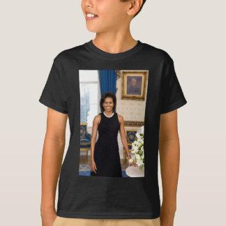 Camiseta Retrato oficial de primera señora Michelle Obama