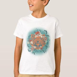 Camiseta Retrato ornamental 3 del tigre