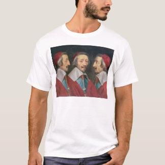 Camiseta Retrato triple de la cabeza de Richelieu, 1642