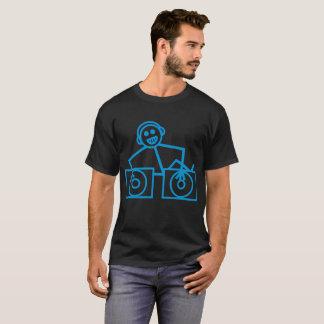 Camiseta Retro divertido fresco de la casa de la música del