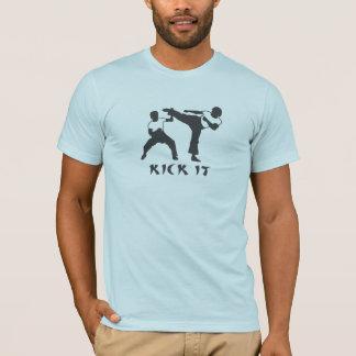Camiseta Retroceso del karate él