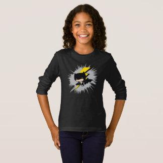 Camiseta Retroceso del relámpago de Chibi Batman