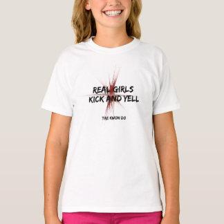 Camiseta Retroceso y grito reales el Taekwondo de los