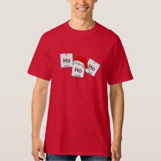 Camiseta Retruécano del navidad del elemento de la química