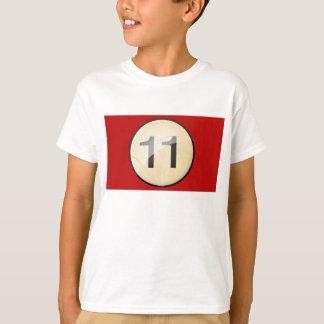 Camiseta Reúna la impresión del frente y de la parte