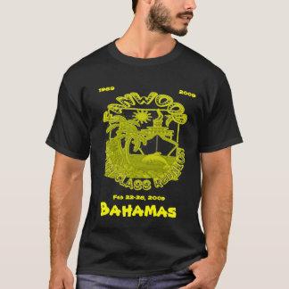 Camiseta reunión de antiguos alumnos, Bahamas, el 22-26 de