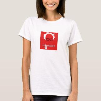 Camiseta Revolución de la chorreadora de Bernie