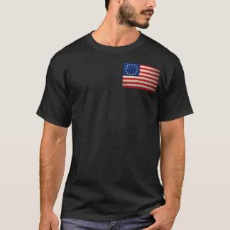 Camiseta revolucionario-guerra-bandera
