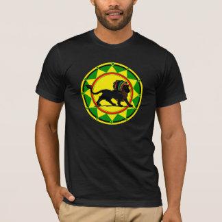 Camiseta Rey Rasta Lion de Jah