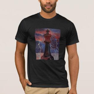 Camiseta Rey T-Shirt del ajedrez